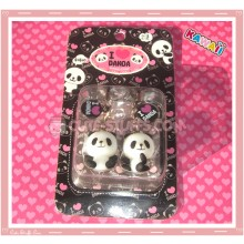 Kawaii Rare Panda Phone Strap Set!