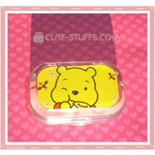Kawaii Sparkle Travel Lens Case or Trinket Box! - Winnie the Pooh Eating