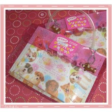 Kawaii Cute Dog Letter Set w/ Carrying Pouch & Charm