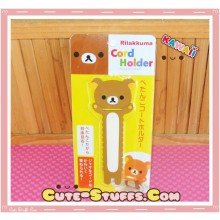 Kawaii San-x Long Cord Holder Rilakkuma