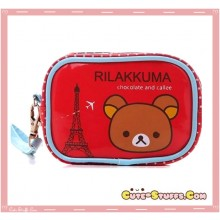 Kawaii Rilakkuma PU Leather Carry Bag! Eiffel Tower!