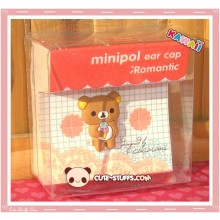 Kawaii 2D Dust Plug! Rilakkuma Ice Cream