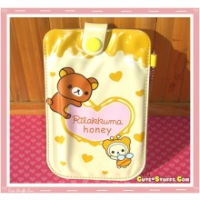 Kawaii Rilakkuma Meets Honey Universal Phone Pouch