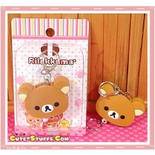 Rilakkuma Retractable Key and ID Holder Charm