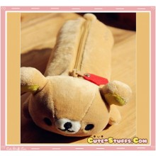 Kawaii Rare Plush Large Rilakkuma Case