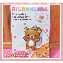 Kawaii San-x Cord Winder w/ Button Strap! Rilakkuma