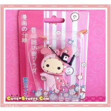 Kawaii 3 In 1 Cord Winder Dust Plug Charm Strap Set! Shappo