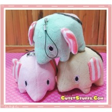 Large Sentimental Circus Mouton Elephant Plush Charm
