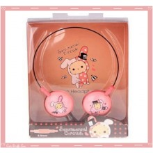 Kawaii Shappo Sentimental Circus Wire Headphones!  Rare!