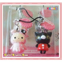 Kawaii Rare Sentimental Circus Dust Plug Charm Set Duo! Curo