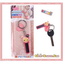 Kawaii RARE Sentimental Circus Shappo Keychain Thermometer Duo!