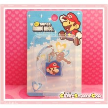 Kawaii Rare Mini Character Lock & Keys - Mario!
