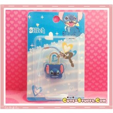 Kawaii Rare Mini Character Lock & Keys - Lilo & Stitch!