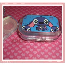 Kawaii Travel Lens Case or Trinket Box! - Stitch