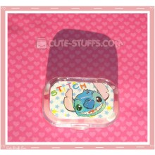 Kawaii Sparkle Travel Lens Case or Trinket Box! - Stitch Face Stars