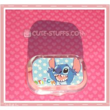 Kawaii Sparkle Travel Lens Case or Trinket Box! - Stitch Jump Stars