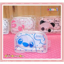Kawaii Translucent Travel Lens Case or Trinket Box! - Sweet Stitch Clear