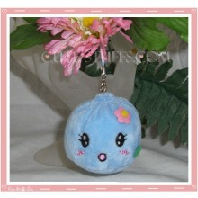 Mini Plush Kawaii Blob Phone Strap Blue