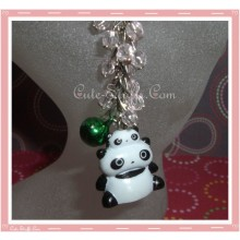Tare Panda Stacked Phone Strap with Beads