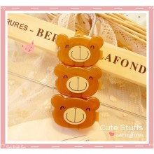 Kawaii 3PC Stackable Good Friends Pill or Trinket Box - Choco Teddy!