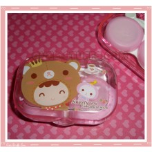 Kawaii Travel Lens Case or Trinket Box! - Bear Costume