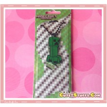 Kawaii Unique Large Minecraft Creeper Necklace  - Classic Style