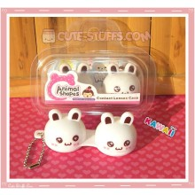Kawaii Animal Series 2 Capsule Contact Lense Case! - White Bunny