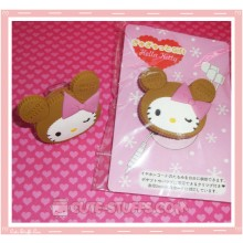 Kawaii Sanrio Cord Winder w/Clip! Hello Kitty Anniversary
