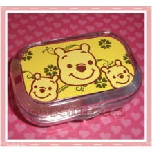 Kawaii Travel Lens Case or Trinket Box! - Winnie the Pooh