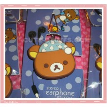 Kawaii Rilakkuma Cord Holder & Phone Strap