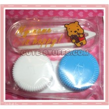 Kawaii Mini Travel Lens Case or Trinket Box! - Winnie the Pooh
