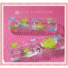 Kawaii Eyeglasses Case - Kerori Frog