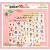 Kawaii Sweet Daizy 4 Sheet Diary & Planner Transparent Stickers!